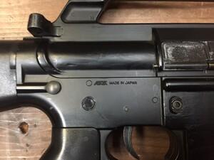 東京マルイ 電動ガン M16ベトナム 初期型再現加工品 パーツ欠品有り ウッドランドガンケースセットの写真7