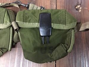 米軍放出品 M1967 アムニッションポーチ マガジンポーチ M16 20連マガジン用の写真3