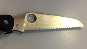 Spyderco 折りたたみナイフ クリピツールレスキューの写真6