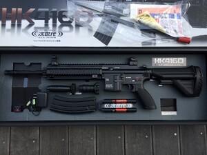 東京マルイ 次世代電動ガン HK416D オプションパーツ有り ミリタリー サバゲーの写真1