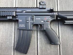 東京マルイ 次世代電動ガン HK416D オプションパーツ有り ミリタリー サバゲーの写真3