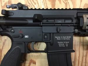 VFC ガスブローバックガン HK416D 旧型 M27 コンバージョンキット組込済みの写真6