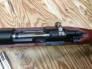 Double bell ガスライフル kar98k カート式 木製ストックの写真5