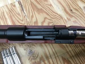 Double bell ガスライフル kar98k カート式 木製ストックの写真6