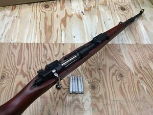Double bell ガスライフル kar98k カート式 木製ストックの写真7