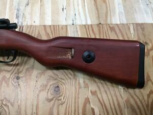 Double bell ガスライフル kar98k カート式 木製ストックの写真8