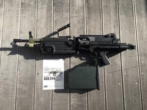 A&K 電動ガン M249 パラトルーパー 給弾難あり 分隊支援の写真1