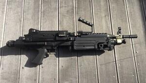 A&K 電動ガン M249 パラトルーパー 給弾難あり 分隊支援の写真3