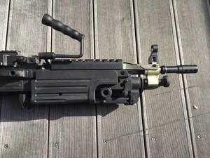A&K 電動ガン M249 パラトルーパー 給弾難あり 分隊支援の写真6
