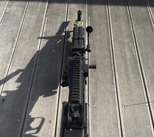 A&K 電動ガン M249 パラトルーパー 給弾難あり 分隊支援の写真8