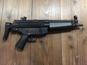 東京マルイ 電動ガン H&K MP5A5 外装一部難あり 動作品の写真1