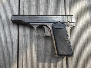 コクサイ モデルガン ブローニング M1910 発火済み コレクションの写真2