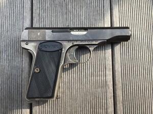 コクサイ モデルガン ブローニング M1910 発火済み コレクションの写真3