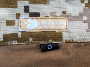 GHOST GEAR レディースBDU 上下セット Sサイズ デジタルデザートの写真3